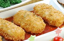 カニクリームコロッケ~自家製トマトソース~