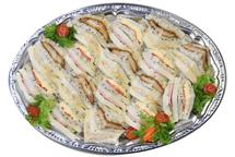 サンドイッチ盛合せ(ゴマ)
