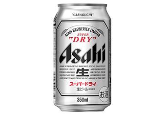 アサヒスーパードライ350ml